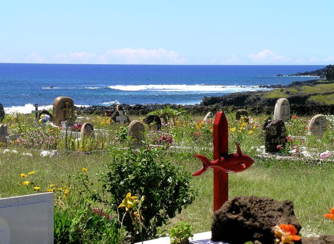 cimetière de Hanga Roa