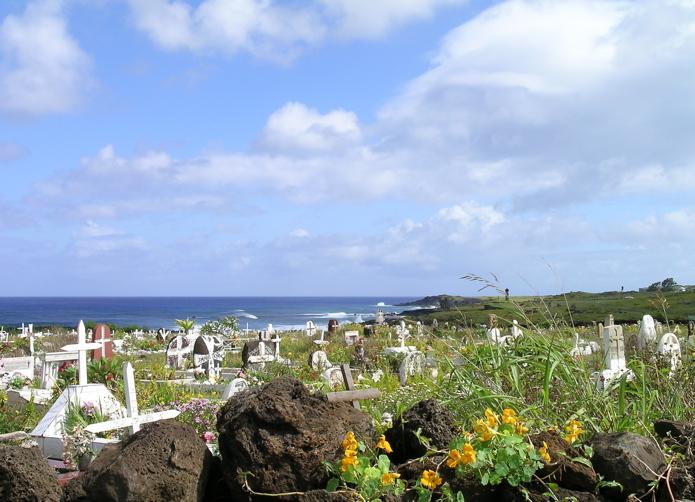 petit cimetière de Hanga Roa