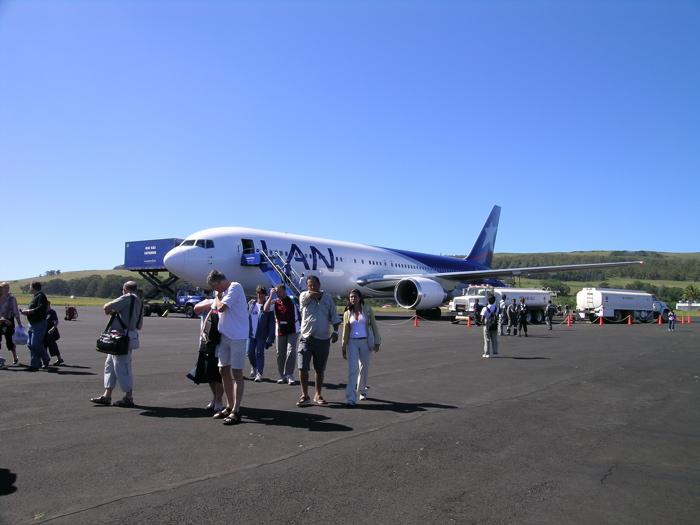 aéroport  Mataveri Rapa Nui