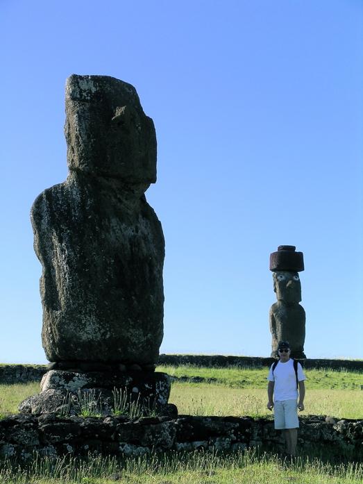 moai de l'ahu Tahai