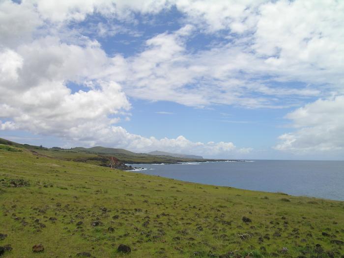 site du Vinapu côte sud de Rapa Nui