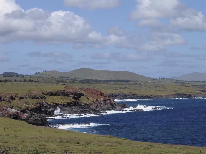 côte sud de Rapa Nui
