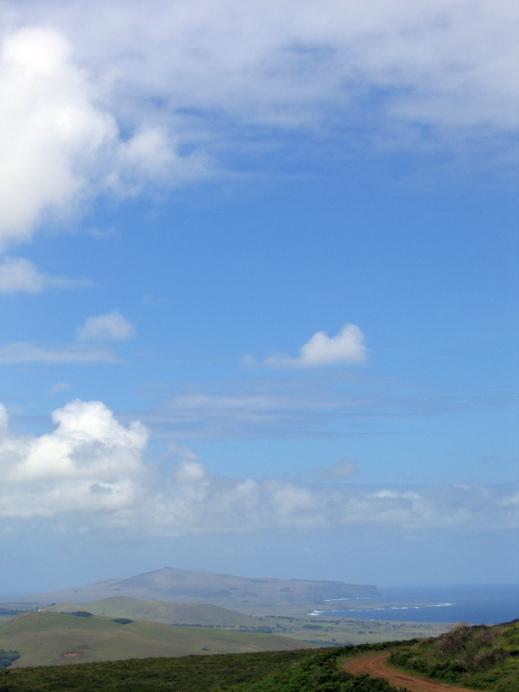 vue de l'île Rapa Nui