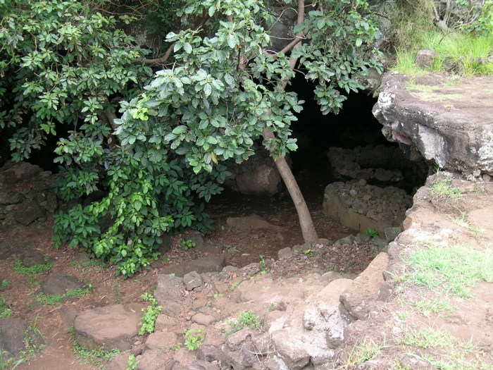 entrée du passage souterrain