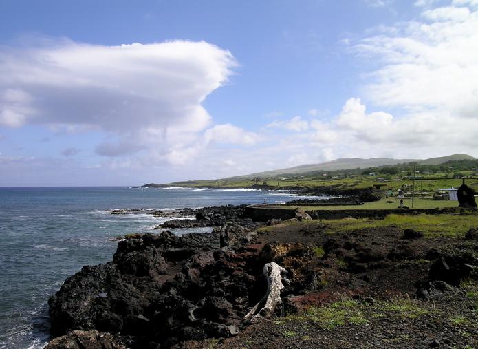 balade côté océan Hanga Roa