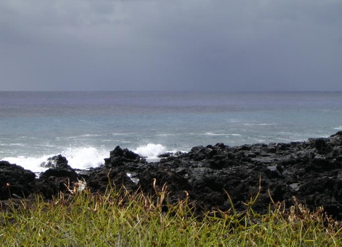 Côte ouest de Rapa Nui