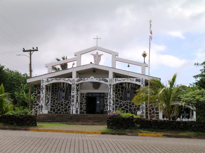 Église Immaculée Conception, Hanga Roa