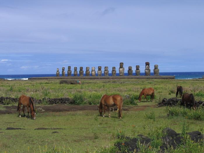 Rapa Nui : ahu Tongariki