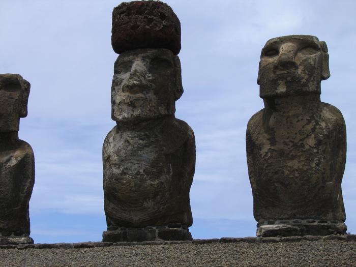 moai de l'ahu Tongariki