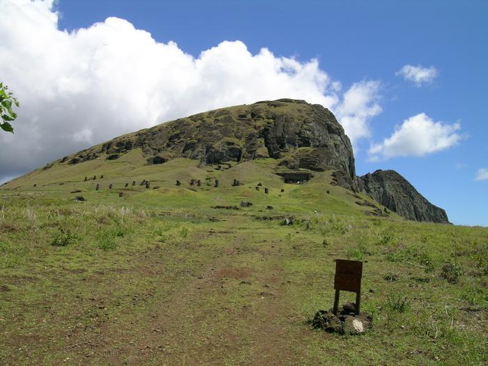 carrière des moai