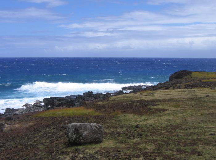 côte sud Rapa Nui