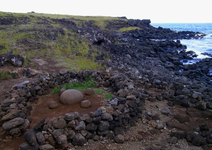 le nombril de Rapa Nui te Pito o te Henua