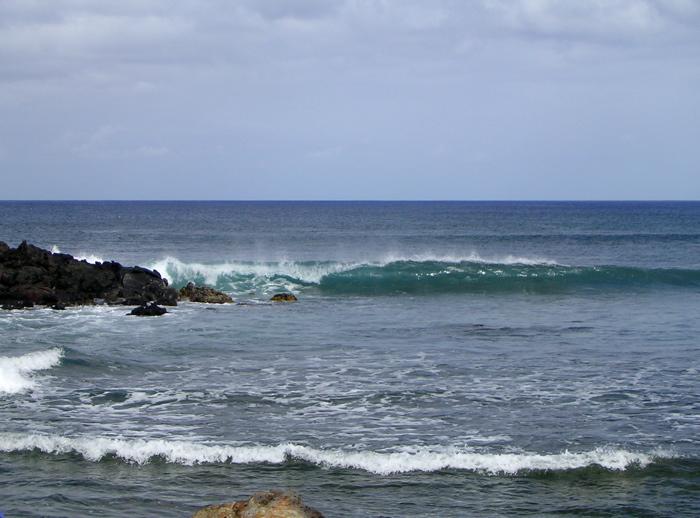 bord de mer près du petit port des pêcheurs