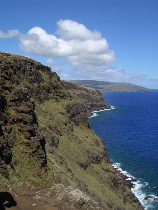 falaise de Rapa Nui
