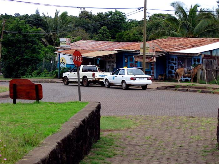 rue du centre-ville Hanga Roa